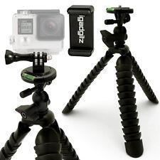 Tripode Flexible Articulado, Móvil Smartphones Soporte + Adaptador con Tornillo