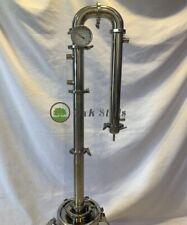 "2"" Stainless Steel Moonshine Pot Still / Alcohol Distiller Column"