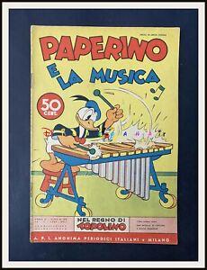 ⭐ PAPERINO E LA MUSICA - Regno di Topolino Disney # 85 - 1939 - DISNEYANA.IT ⭐