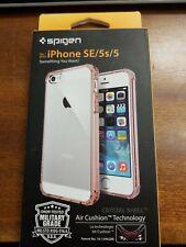 iPhone 5 / 5S / SE Spigen Crystal Shell Clear/Pink