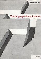 Niels Luning Prak - The language of architecture