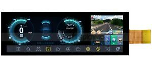 """7.84"""" Bar Style IPS 1280x400 MIPI TFT IoT LCD Display for Car Monitor Full View"""
