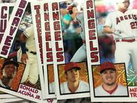 SILVER PACK Chrome 2019 TOPPS UPDATE BASEBALL 1984 INSERTS YOU PICK COMPLETE SET