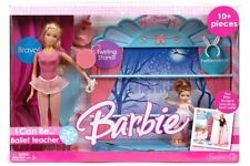 Barbie Ballet Teacher Playset Mattel 2006 Rare Collectable