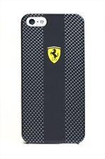 Scuderia Ferrari Carbon Back Cover Case for iPhone 5 / 5s / SE (Black) FECBP5BL