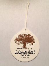 Vintage Rare La Quinta Hotel Golf Club Golf Bag Tag - La Quinta, California