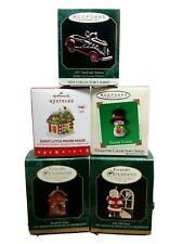1988 And 1989 Hallmark Merry Miniatures Christmas 43 Pieces 41 Have Gold Sticker
