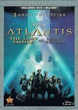 Atlantis: The Lost Empire / Atlantis: Milo's Return: Two-Movie Collection *NEW*