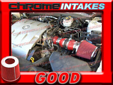 RED 00 01 02 03/2000 2001 2002 2003 CADILLAC DEVILLE 4.6 4.6L V8 AIR INTAKE KIT