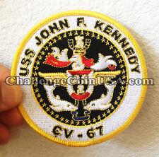 USS JFK Patch
