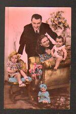 POUPEE BAIGNEUR avec FILLETTE & BEBE , années 1930