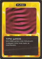 """Doctor Who MMG CCG - Flash """"Time Winds"""" Card"""
