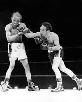 1949 Featherweight Fight II WILLIE PEP vs SANDY SADDLER Glossy 8x10 Photo Print