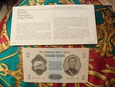 Great Historic Banknotes Mongolia 1955 1 Tugrik UNC P 28