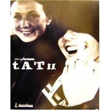 t.A.T.u Official Photo Book Japan TATTOO tatu 2003