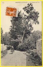 cpa 78 - MANTES la VILLE (Yvelines) La Rue des PRÉS Animé en 1910 Paysanne