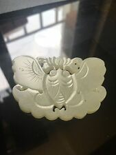 Antique Chinese jade pendant Qing dynasty