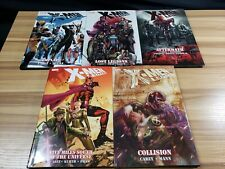X-Men Legacy Hardcover TPB Lot of 5: Emplate, Aftermath, Collision + 2 #5206-15