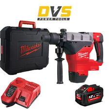 Milwaukee M18FHM-121C Cordless 18V SDS Max Breaking Hammer Drill & Accessories