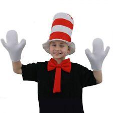 drseuss enfants fou chat chapeau costume déguisement ensemble SEMAINE DU LIVRE