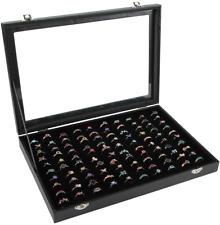 caja para anillos organizador de anillo joyeria para 100 anillos mostrador