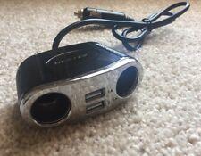 New listing Bestek 150W 2-Socket Cigarette Lighter Power Adapter Dc Outlet Splitter 3.1A