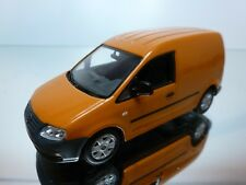 MINICHAMPS VW VOLKSWAGEN CADDY - ORANGE/BROWN 1:43 - EXCELLENT - 17/16