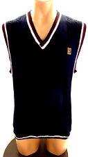Nike Mens Navy Cottonbblend Sweater Vest Size M
