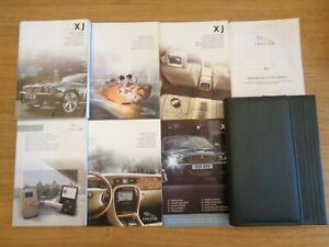 Jaguar XJ Owners Handbook Manual and Pack 06-09