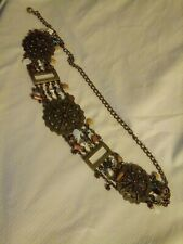 Chico's Boho Chain Belt, Size S/M