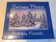 Snowy Trees Holiday JigSaw Puzzle 1000 Pc by Current Factory Sealed