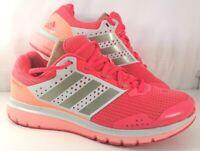Women's Ladies Adidas Pink Peach Duramo 7 Supercloud Running Sport Trainers UK 5