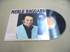 VINYL ALBUM RECORD,MERLE HAGGARD ELEVEN WINNERS,CAPITOL,ST-11745 1978