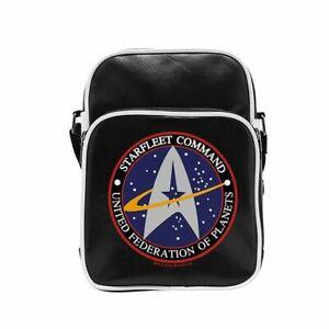 Star Trek Starfleet Logo Vinyl Messenger Bag