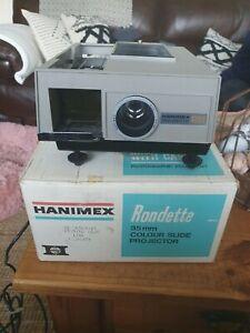 Vintage Hanimex 400S Rondette 35mm Slide Projector
