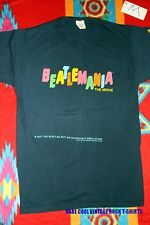 BEATLES RARE 'BEATLEMANIA' MOVIE Vintage 1981 PROMO T-Shirt * Blue* Size M