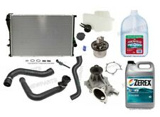For BMW E39 M5 E52 Z8 Radiator Kit & Coolant Parts with Antifreeze Cooling Kit