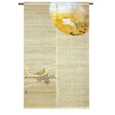 Kyoto Noren Japanese Hand dye Linen cloth curtain Country & Moon 150x88cm