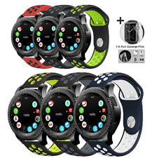 for Samsung Gear S3 Classic/Frontier Galaxy Watch 42mm Sport Bands Soft Silicone