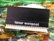 BROSSE TONAR WETGOAT POILS DE CHÈVRE Wetgoat, natural goat's hair, record brush