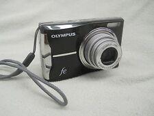 Olympus FE FE-46 12.0MP Black Digital Camera Point & Shoot Simple & Efficient