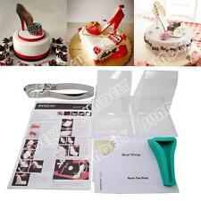 New High heel shoe kit silicone fondant cake template mold decorating wedding