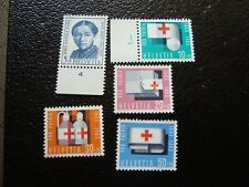 SUISSE - timbre yvert/tellier n° 711 a 715 n** MNH (COL1)