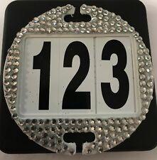 Equidisc Bridle Number Horse Competition Number Dressage equidisc BLING