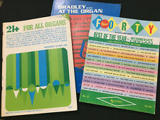 ALL ORGAN  Bradley at the Organ,  New 40 Best of the Year,  21+ for All Organs