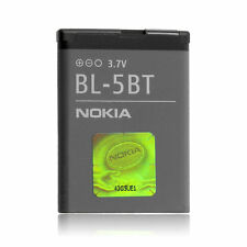 LOT of 100 OEM NOKIA BL-5BT 870mAh BATTERIES for 2600 2760 N75 7510 Supernova