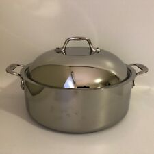 All-Clad 6 qt. French Braiser with Domed Lid Stainless New Old Stock NOS