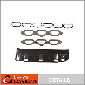 Complete Intake Manifold Gasket Set fit 01-10 Chrysler Dodge Jeep 3.8L 3.3L OHV