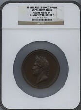 1841 FRANCE BRONZE MEDAL NAPOLEON'S TOMB NGC MS-66 (Louis Philippe I)