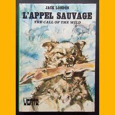 Bibliothèque Verte L'APPEL SAUVAGE Jack London Jacques Pecnard 1974